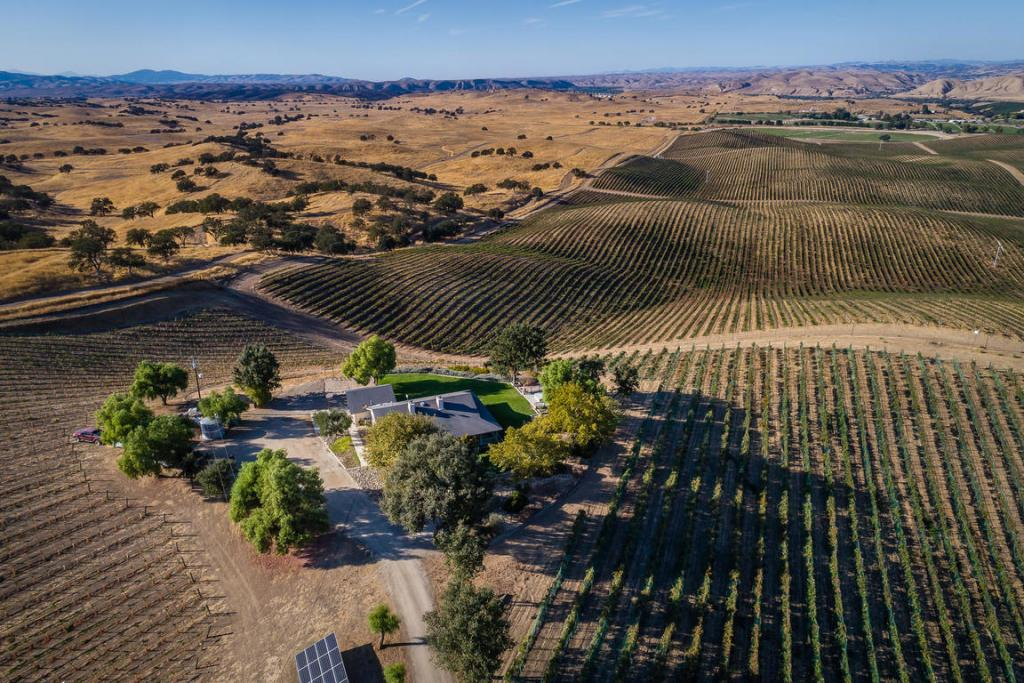 Paso Robles AVA Wine Country Home w/ 15 Acre Vineyard For Sale - Paso Robles Wine Country Real Estate